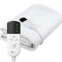 Manta térmica 150x70cm, 3 niveles de temperatura por 17,99€ antes 35,99€.