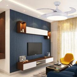 Ventilador de techo con luz regulable y temporizador, mando a distancia por 87,99€ antes 159,99€.