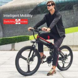 Ofertas en bicicletas eléctricas plegables Samebike en Amazon.