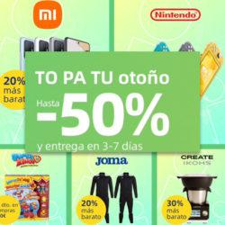 Promoción TO PA PU OTOÑO: Nuevos Cupones para Aliexpress de hasta 35 euros y grandes ofertas por unos días.